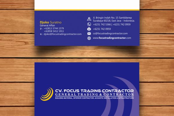 CV. Focus Trading Contractor