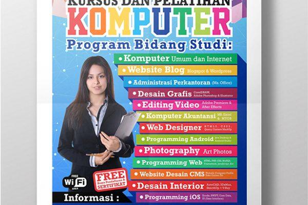 Poster Promosi Kursus
