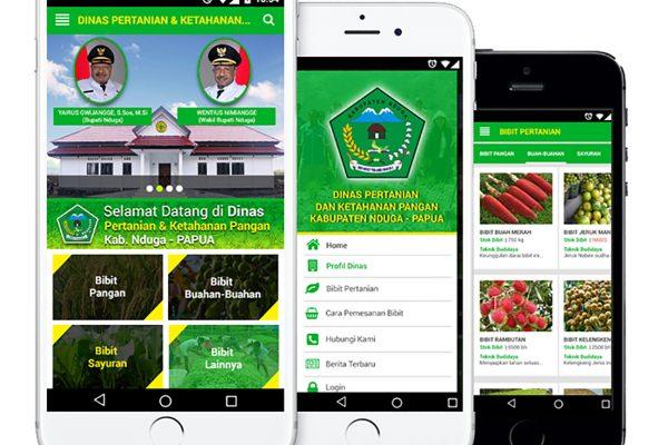 Aplikasi E-Bibit Dinas Pertanian Kab. Nduga – Papua
