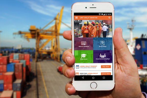 Aplikasi Diklat Maritim PT. Pelindo Marine Service