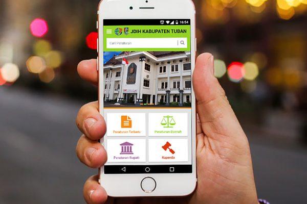 Aplikasi Produk Hukum JDIH Kab. Tuban