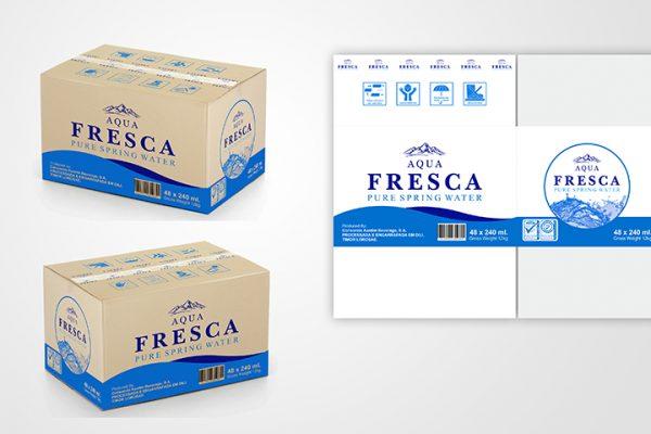 Aqua Fresca – Carton Box